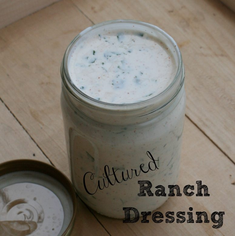 Cultured Ranch Dressing