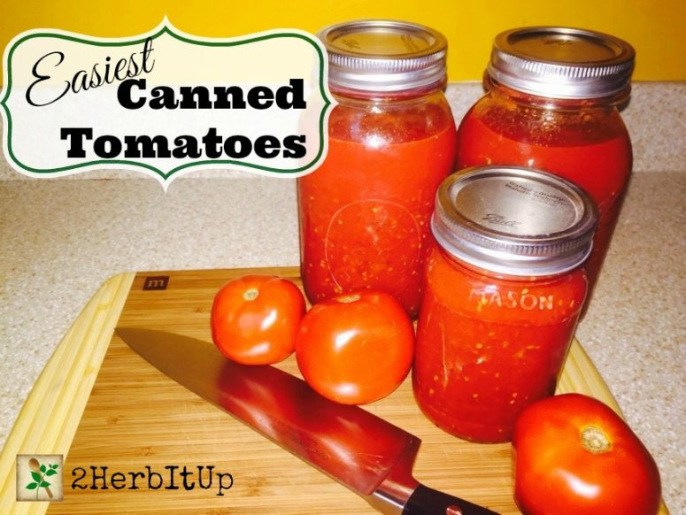 Easiest Way to Can Tomatoes