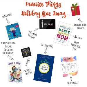 Look at these awesome gifts to be given away! Wow, the Money Making Mom Book is being given away! What an awesome holiday gift giveaway!