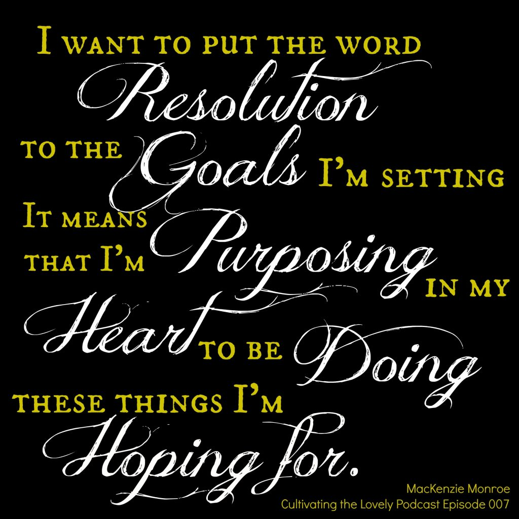 Great ideas for healthy resolutions and how to keep them.