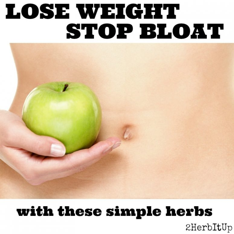 The Best Herbs for Bloating and Weight Loss