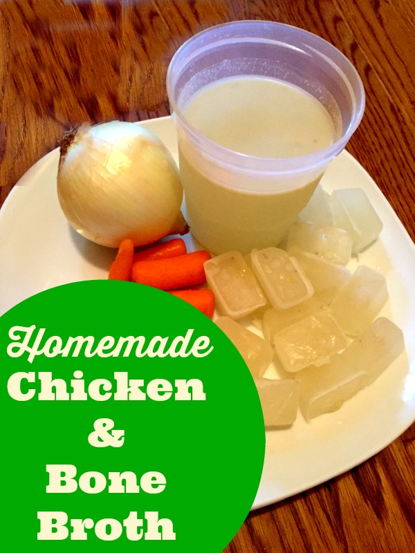 How to make chicken broth and bone broth. How to make chicken stock.