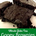 These brownies are gluten free and so yummy! These have become our new family favorite!