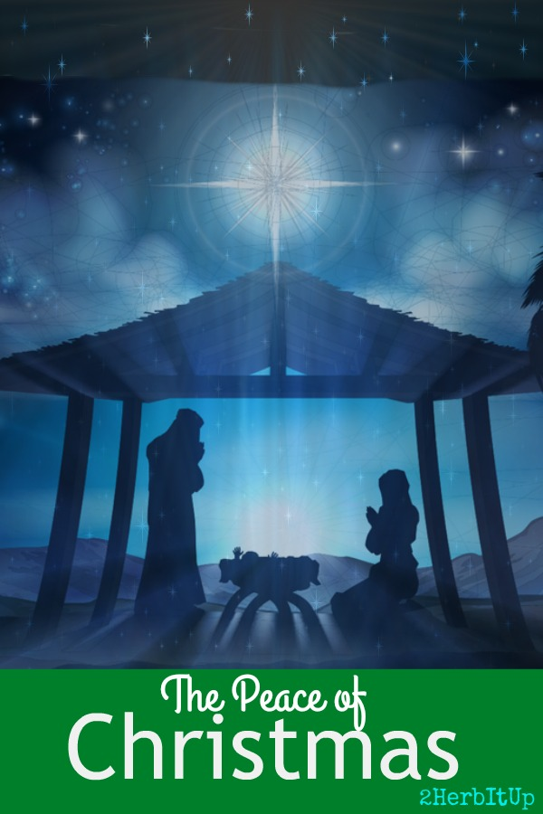 Do you have peace this Christmas?  Do you know the why behind Christmas?