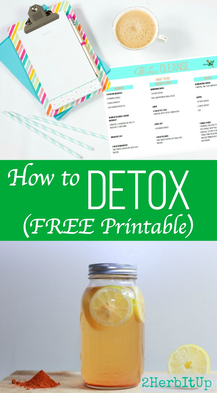 Learn how to detox your body. See how simple and effective it is to detox your body.