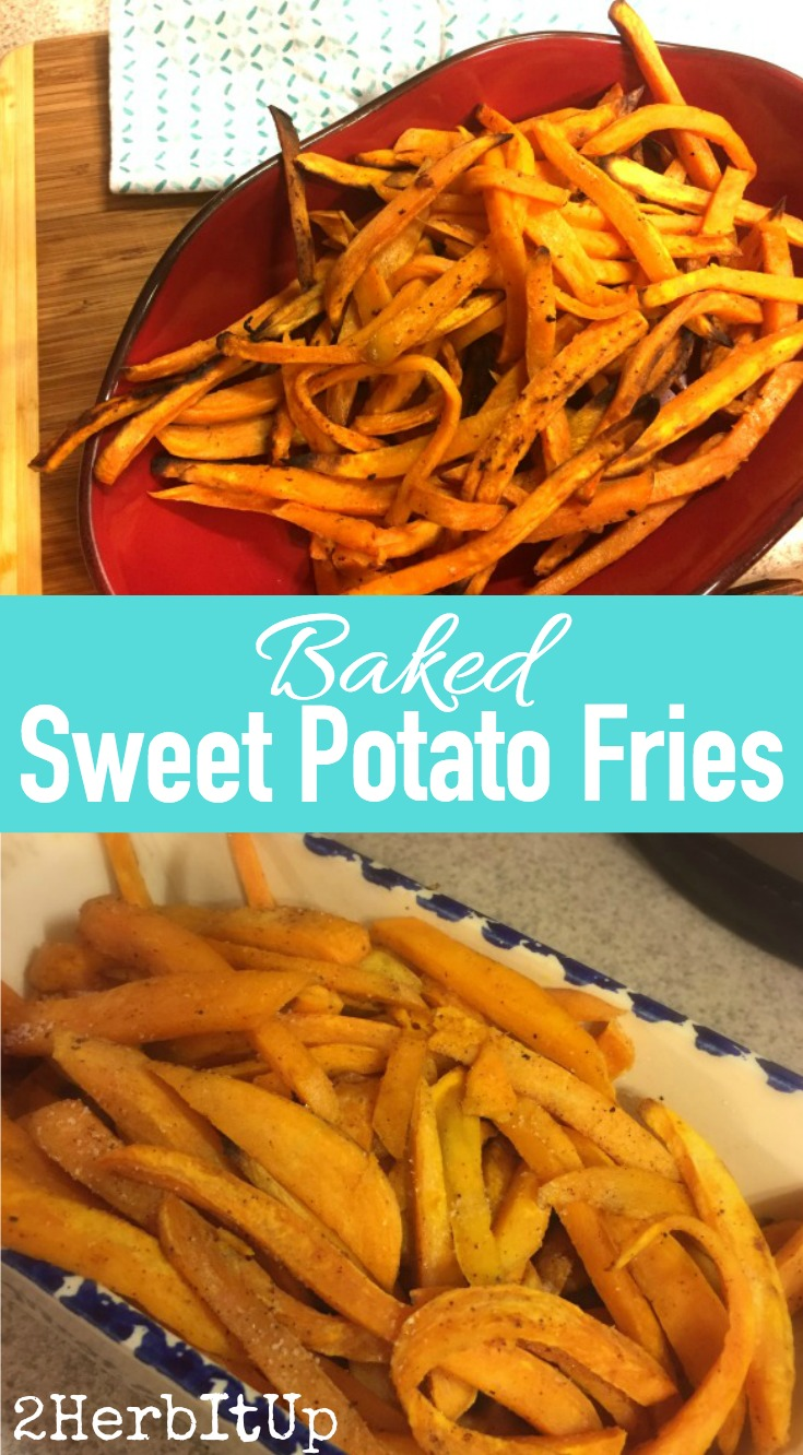These are the quickest and tastiest sweet potato fries ever. A healthier fry that doesn't sacrifice on taste are baked sweet potato fries.