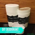 This is such an easy, healthy homemade deodorant recipe.