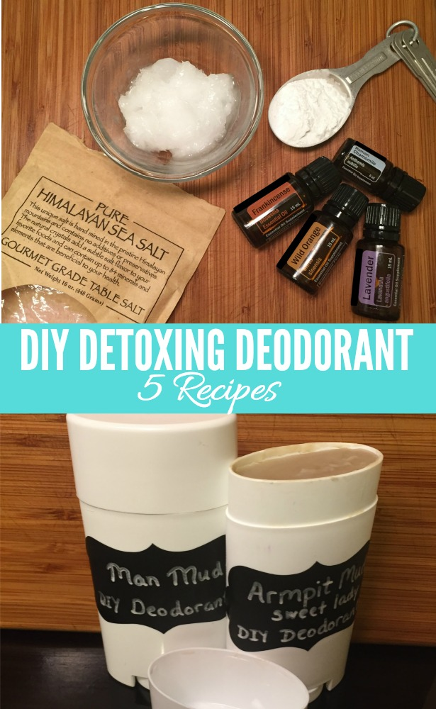These homemade deodorant recipes work great and smell amazing!