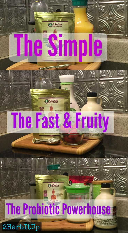 Three quick and tasty recipes using ASANA Daily Restore to naturally balance hormones.