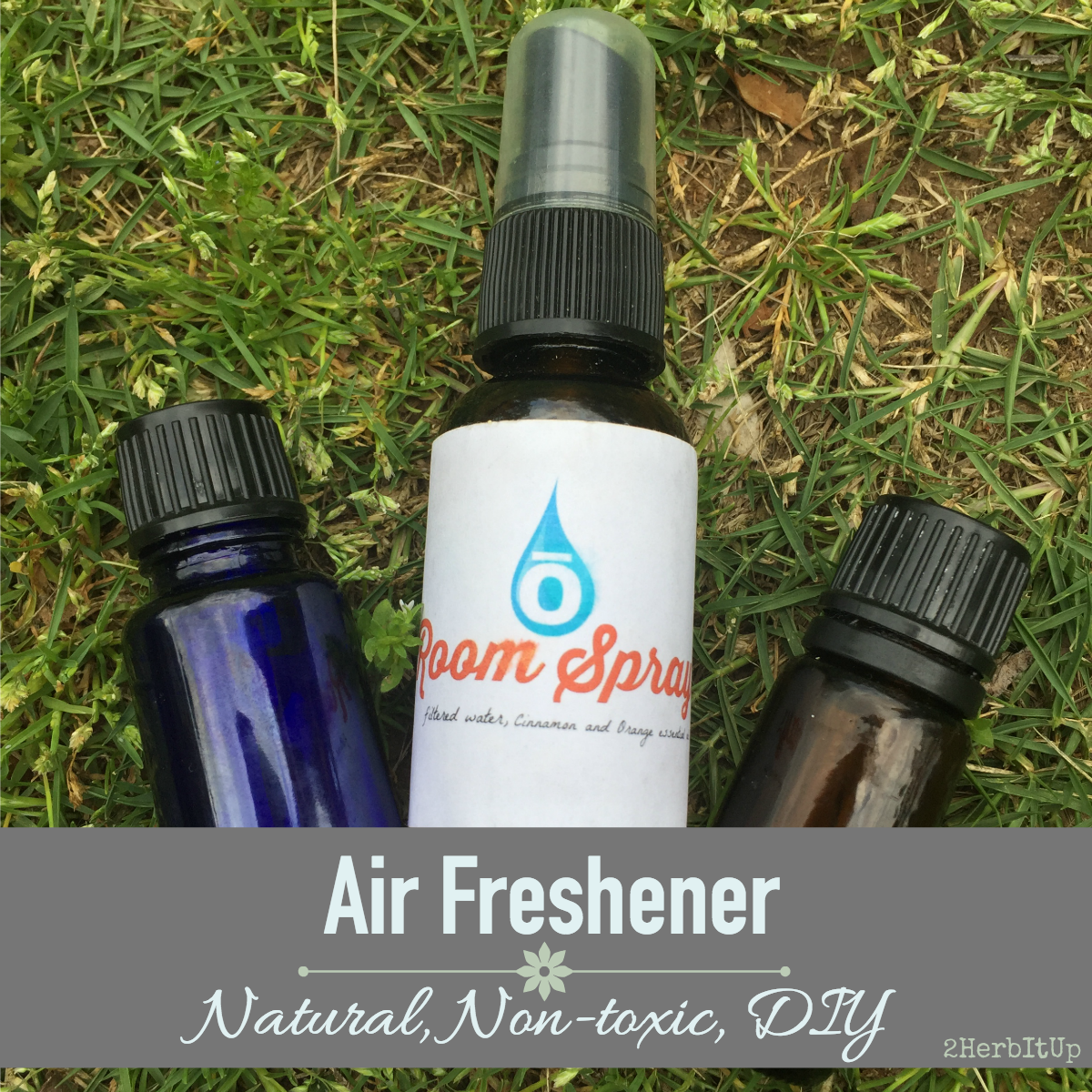 Essential oil sprays can be used as a non-toxic, natural air freshener.