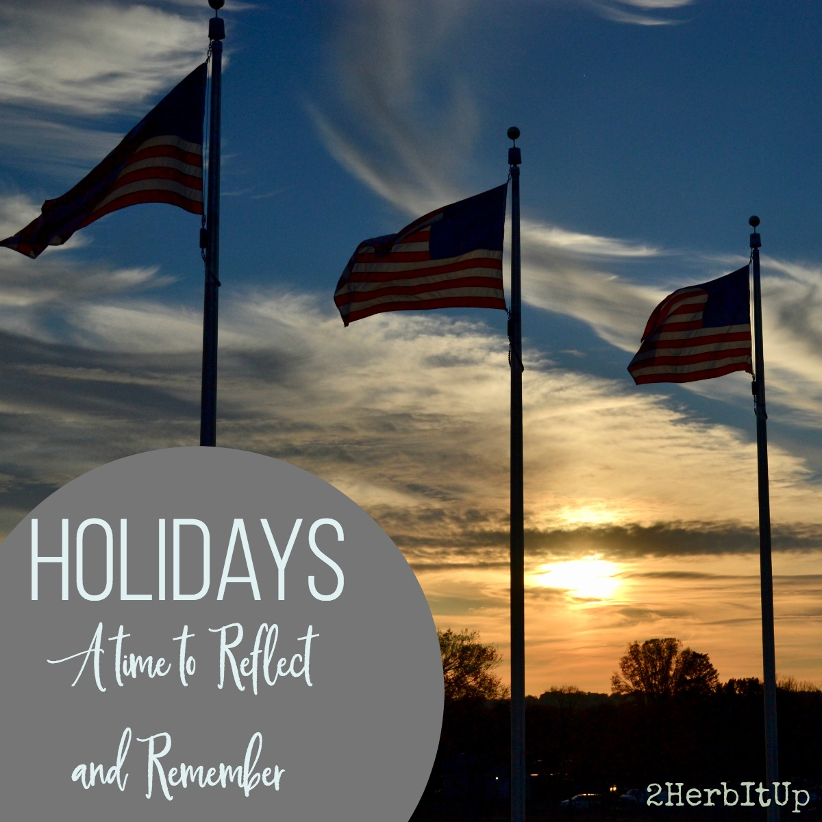 Holidays should be a time to reflect and remember those sacrifices given for us.