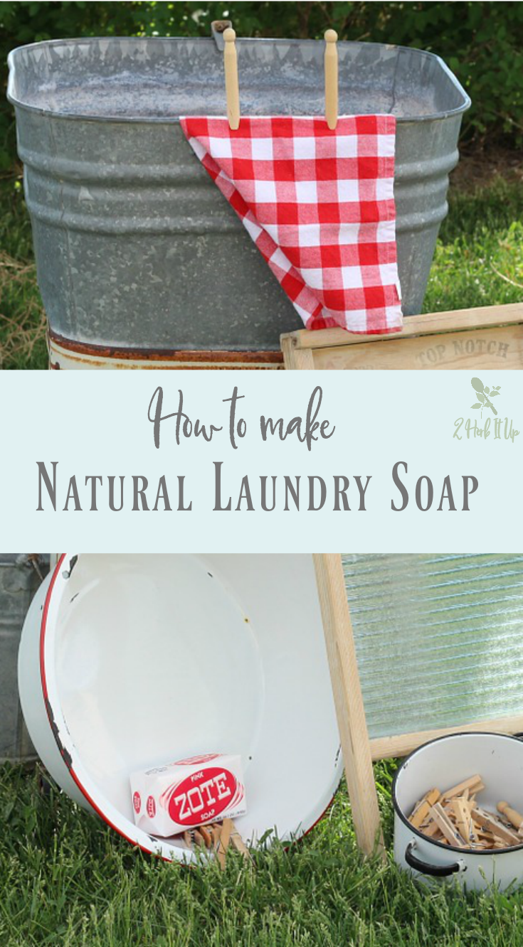 How to Make Homemade Natural Laundry Soap (Without Borax)