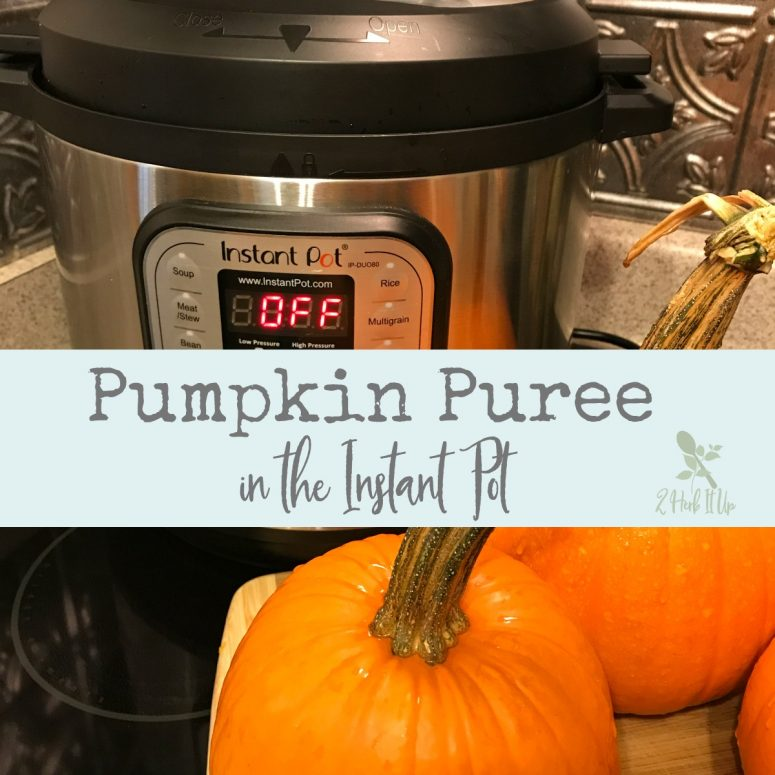 How To Make Pumpkin Puree in the Instant Pot