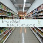 Learn how to meal plan and why it's so important. Plus get a free meal plan guide.