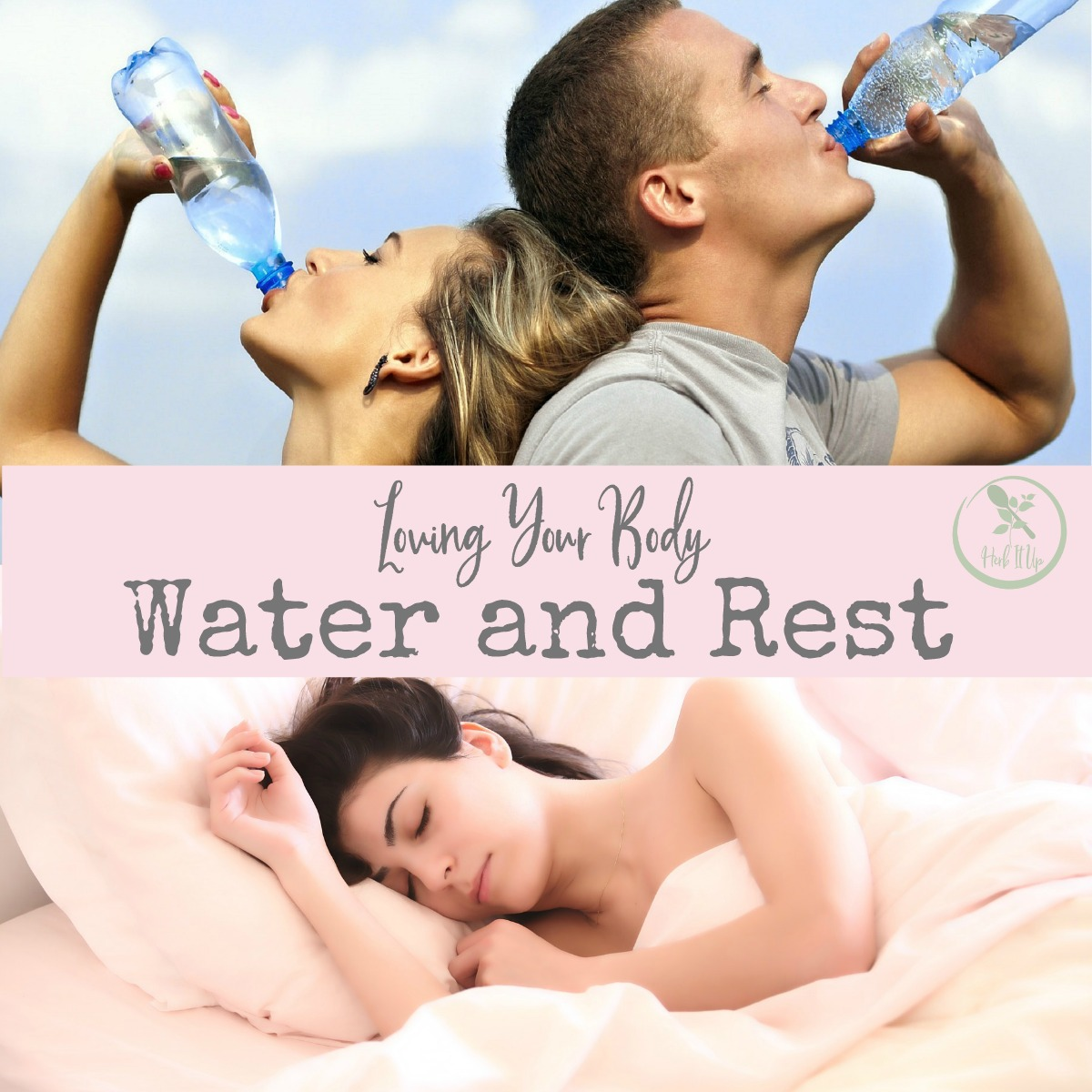 In order to truly love the health of our body we must be intentional in our water intake and amount of rest we get.  These are two of the most fundamental parts of loving your body.
