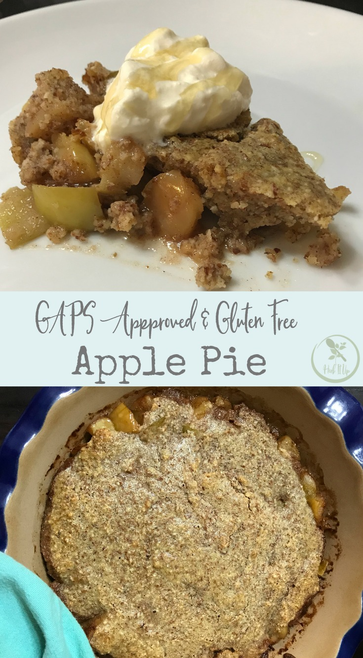 This GAPS approved apple pie is as delicious and easy to make as it is healthy.