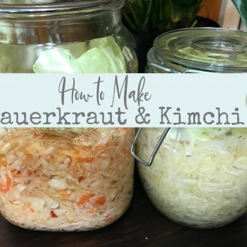 See how easy it is to make sauerkraut or kimchi at home.